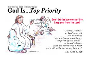 God Is Top Priority